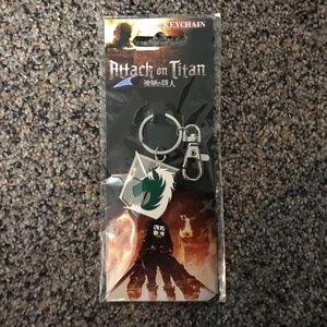 ☑️ Attack on Titan Keychain